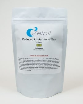 Reduced Glutathione 450mg