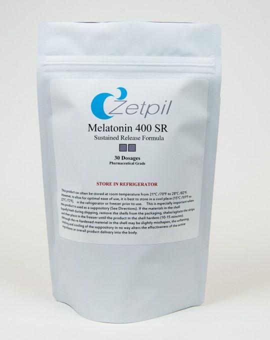 melatonin 400mg suppository
