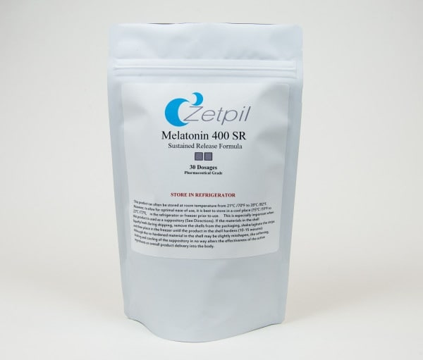 Zetpil Melatonin 400mg SR Suppository  Zetpil