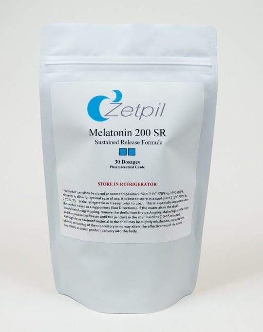 melatonin 200mg suppository